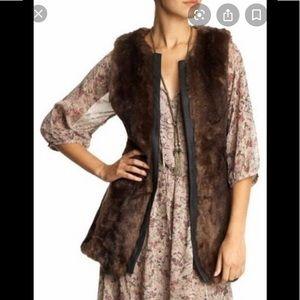 Sanctuary Clothing, Faux Fir Vest